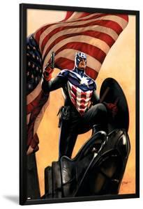 Captain America No.34 Cover: Captain America by Steve Epting