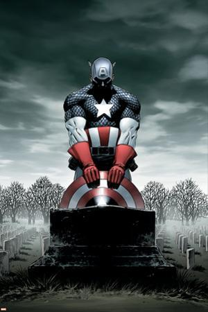 Captain America No.4 Cover: Captain America