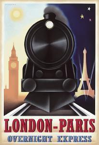 London-Paris Overnight Express by Steve Forney