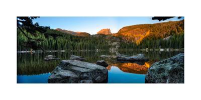 Bear Lake Rocky Mntn Natl Park Colorado