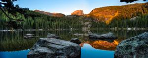 Bear Lake Rocky Mntn Natl Park Colorado by Steve Gadomski