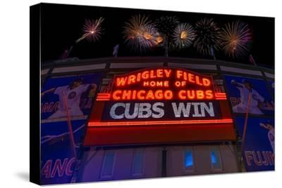 Chicago Cubs Win Fireworks Night