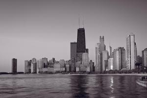 Chicago Morning BW by Steve Gadomski