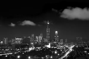 Chicago Night Lights by Steve Gadomski