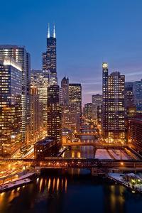 Chicago River City View by Steve Gadomski