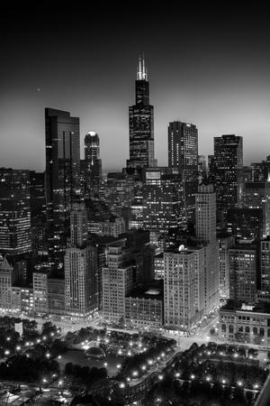 City Light Chicago B W