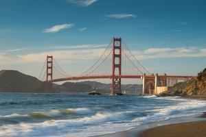 Golden Gate From Baker Beach by Steve Gadomski