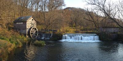 Hyde Mill Wisconsin by Steve Gadomski