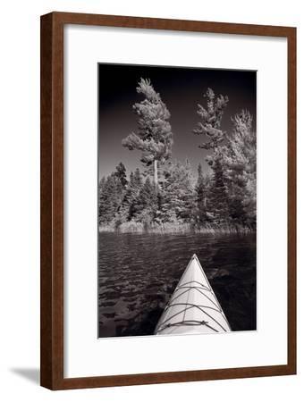 Lake Kayaking BW