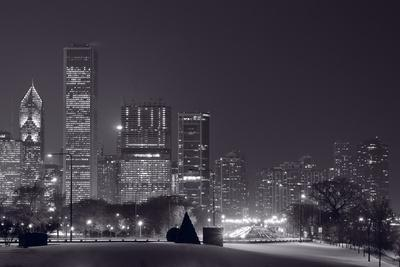 Lake Shore Drive Chicago BW