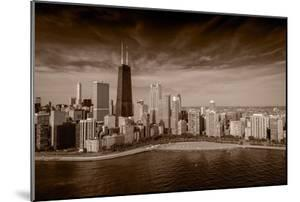 Lakeshore Chicago BW by Steve Gadomski
