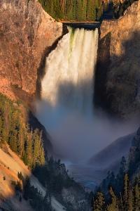 Lower Yellowstone Falls by Steve Gadomski