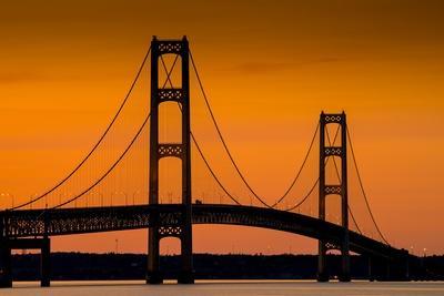 Mackinac Bridge Sunset