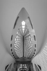 Milwaukee Museum of Art Interior by Steve Gadomski