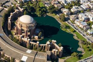 Palace of Fine Arts Aerial by Steve Gadomski