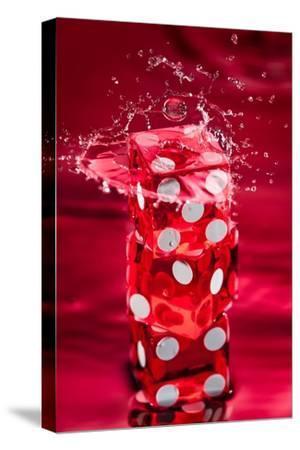 Red Dice Splash