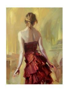 Girl in a Copper Dress 1 by Steve Henderson