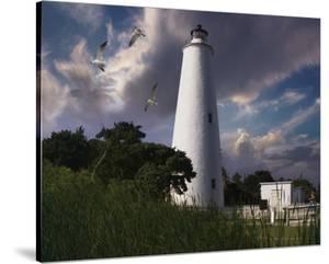 Ocracoke Light I by Steve Hunziker