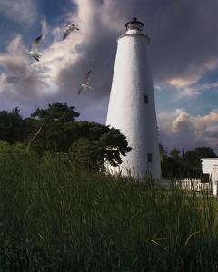 Ocracoke Light II by Steve Hunziker