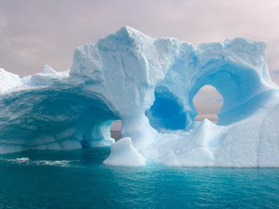 Arched Iceberg, Western Antarctic Peninsula, Antarctica