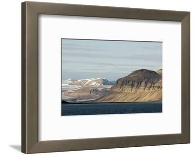 Landscape, Sassenfjorden, Spitsbergen, Svalbard, Norway