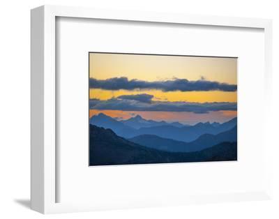 Washington, Pasayten, Pct, Hart's Pass. Landscape from Slate Peak