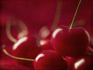 Glossy Red Cherries by Steve Lupton
