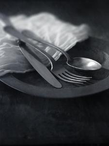 Old Pewter Flatware by Steve Lupton