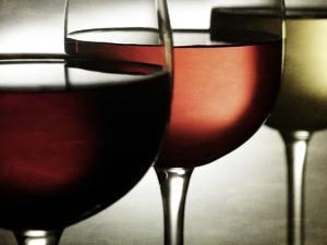 Red, Rose and White Wine by Steve Lupton