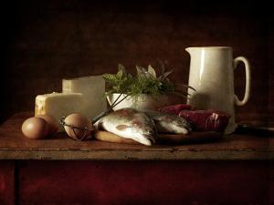 Selection of Cooking Ingredients Which are High in Protein by Steve Lupton