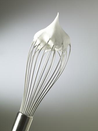 Whisk with Beaten Egg-whites