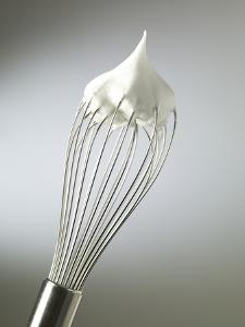 Whisk with Beaten Egg-whites by Steve Lupton