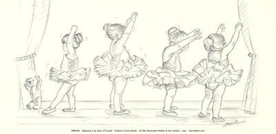 Ballerinas II by Steve O'Connell