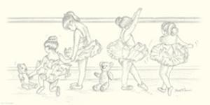 Ballerinas IV by Steve O'Connell