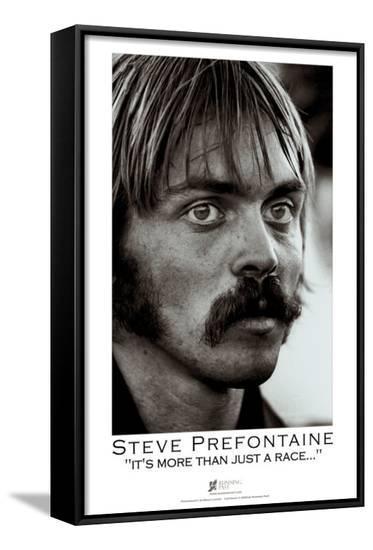 Steve Prefontaine, Portrait-Brian Lanker-Framed Canvas Print