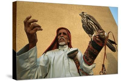 A Falcon Awaits the Commands of the Falconer to the Emir