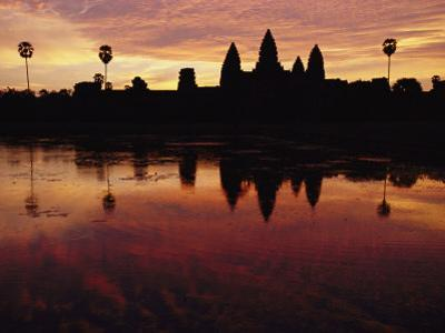 Angkor Wat Temple at Twilight by Steve Raymer