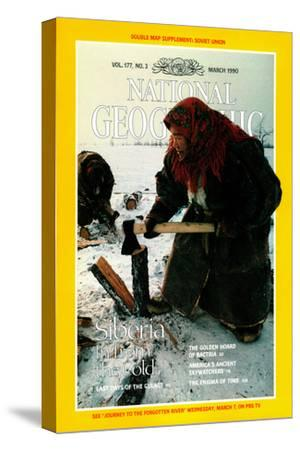 Cover of the March, 1990 National Geographic Magazine