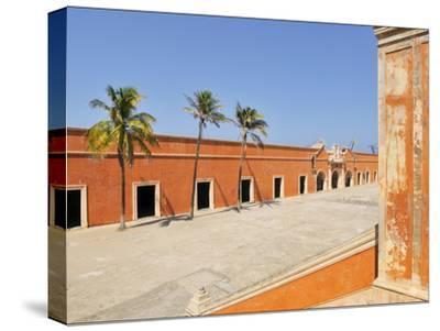 The 18th Century Fort of San Juan De Ulua Building in Veracruz Harbor