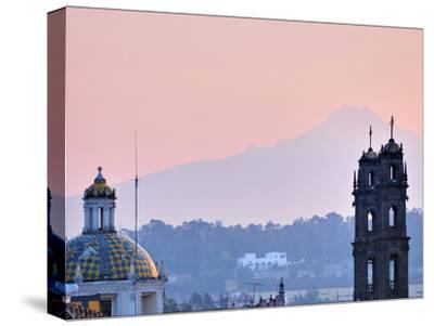 The 5,452-Meter (17,900-Foot) Tall Popocatepetl Volcano Towers over Puebla