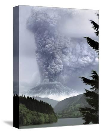 CANVAS 1980 Eruption of Mount St Helens Art print POSTER