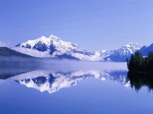 Mountains and Lake McDonald by Steve Terrill