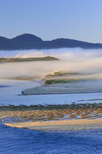 USA, Oregon. Fog over Netarts Bay by Steve Terrill