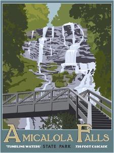 Amicaola Falls by Steve Thomas