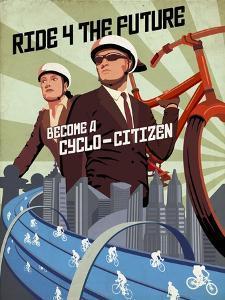 Cyclo Citizen by Steve Thomas