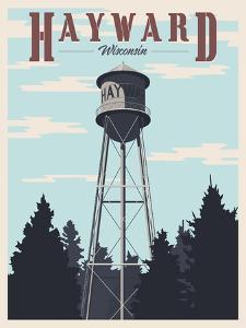 Hayward Water Tower by Steve Thomas