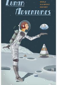 Lunar Adventures by Steve Thomas