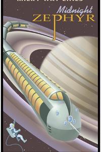 Saturn Midnight Zephyr by Steve Thomas