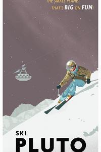 Ski Pluto by Steve Thomas