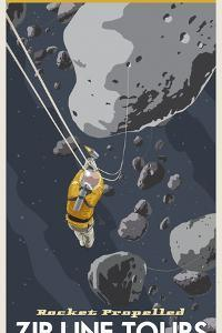 St-Space-06 Spacetravel Asteroids by Steve Thomas